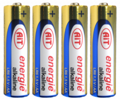 Baterie AIT mikrotužka alkal.LR03
