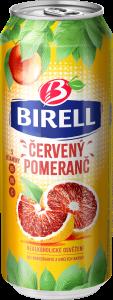 Birell 0,5l červený pomeranč plech