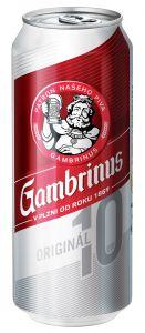 Gambrinus 10% 0,5l plech