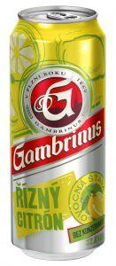 Gambrinus 0,5l pl. řízný citron