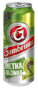 Gambrinus 0,5l pl. limetka/bezinka