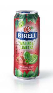 Birell 0,5l lim+malina plech