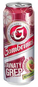 Gambrinus 0,5l pl. šťavnatý grep
