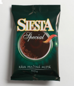 Káva SIESTA special 100g mletá