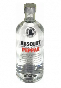 Absolut vodka 0,5l 40% peppar
