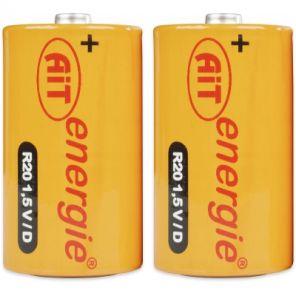 Baterie AIT R20 velký mono
