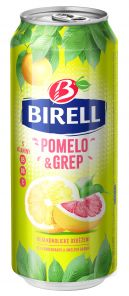 Birell 0,5l pomelo+grep plech