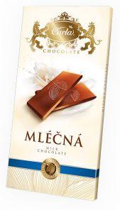 Carla Mléčná čokoláda 80g