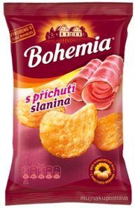 Bohemia chips 70g slanina