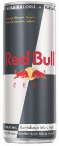 Red Bull 0,25l Zero plech