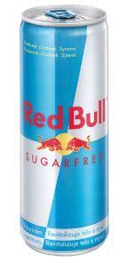 Red Bull 0,25l bez cukru plech