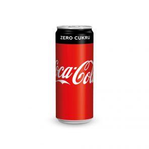 Coca Cola 0,33l plech zero