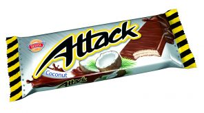 Attack 30g oplatka kokos /Sedita/