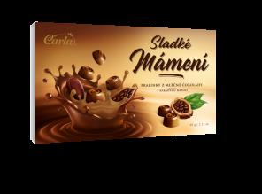 Carla Pralinky mléč.čokol.kakao náplň60g