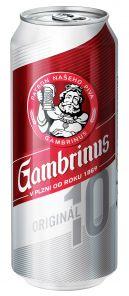 Gambrinus 10° 0,5l plech