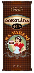 Carla Čokoláda na vaření 100g 44%