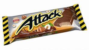 Attack 30g oplatka oříšek/Sedita/