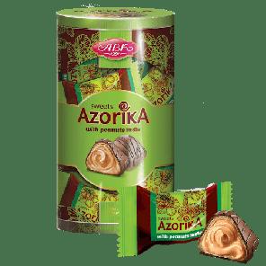 Azorika oplatky arašídové v doze 225g