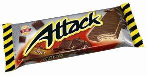 Attack 30g oplatka čokoláda /Sedita/