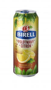 Birell 0,5l citron polotmavý plech
