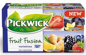 Čaj Pickwick variace jahoda fialová