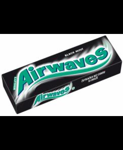 Airwaves Black mint dražé 14g
