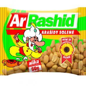 Alika Arašídy pražené slané 60g