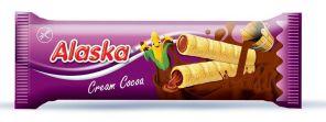 Alaska trubičky kukuřičné kakao 18g