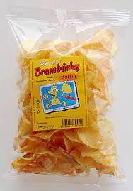 Matouškovy brambůrky sůl 80g