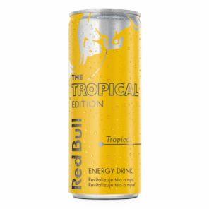 Red Bull 0,25l Tropical plech